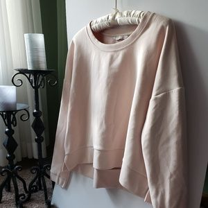 Athleta Pink Soft Crewneck Sweater